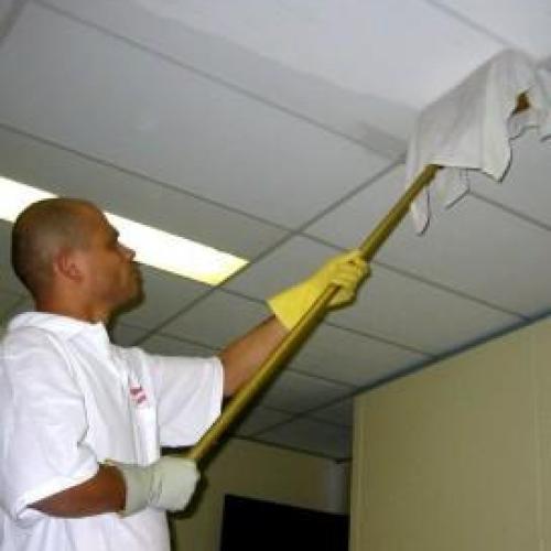 Как ухаживать за подвесными потолками?!