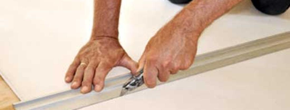 Как разрезать лист гипсокартона?!