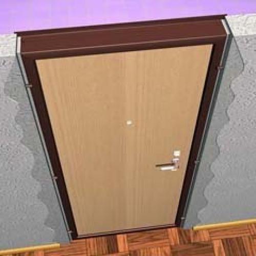 Как уменьшить входную дверь?!