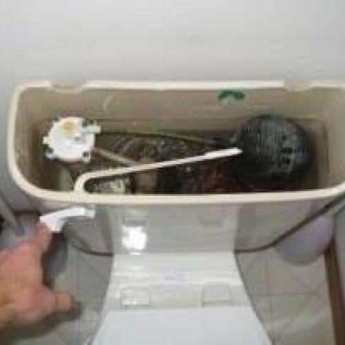 Как отрегулировать поплавковый кран унитаза?!