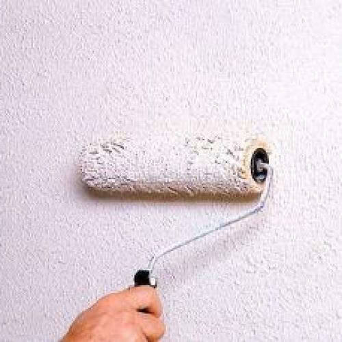 Как покрасить рельефную стену?!