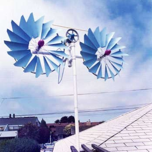 Собственный ветрогенератор своими руками!