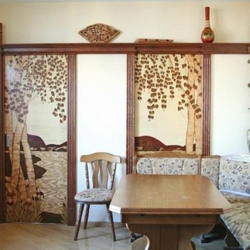 Техника маркетри: деревянная мозаика!