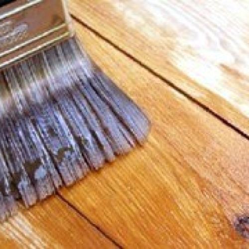 Химическая чистка деревянного пола!
