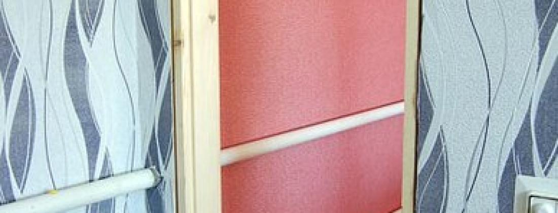 Как быстро закрепить дверную коробку?!