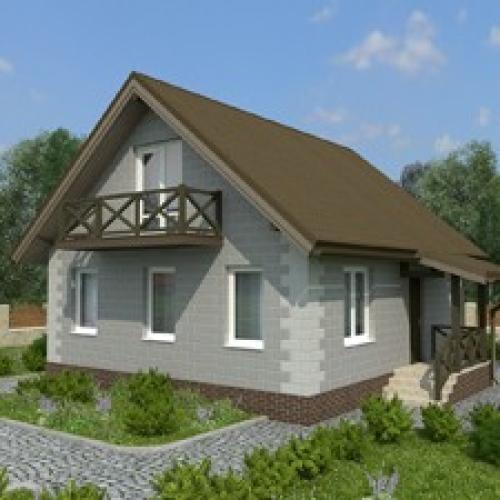 Строительство домов из теплоблоков под ключ в Красноярске!