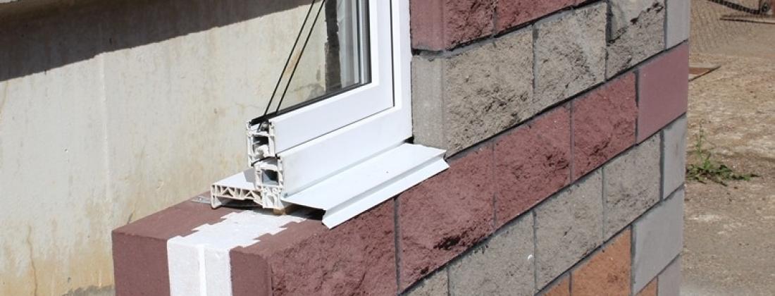 Купить теплоблок с фасадом (колотый камень) в Красноярске!