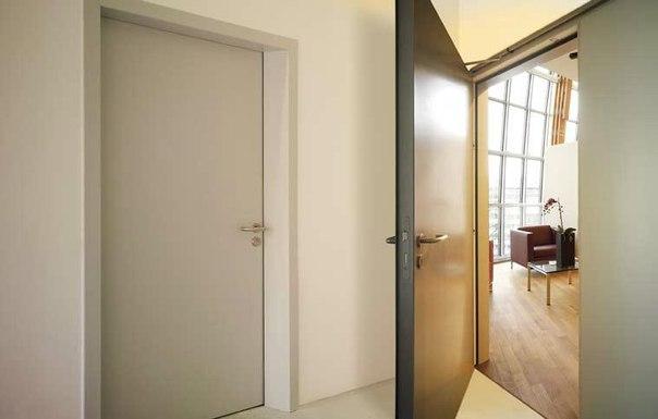 стальная звукоизоляционная дверь для офиса